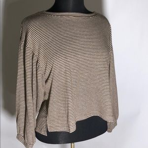 Tops - Stripped Sweater Crop